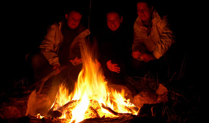 Campfires at Forest House